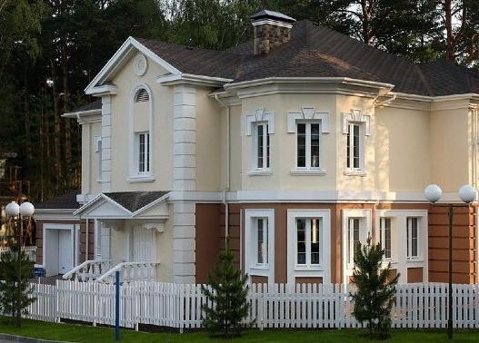 Фасады и их утепление пенопластом